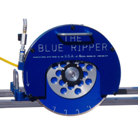 Blue Ripper Rail Saw 5HP - agmtools