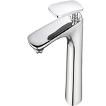 Bathroom Faucet V102 Single Handle Vessel Faucet(Brushed Nickel) - agmtools
