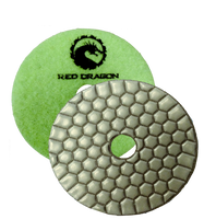 Pads Dry Polishing RED DRAGON - agmtools