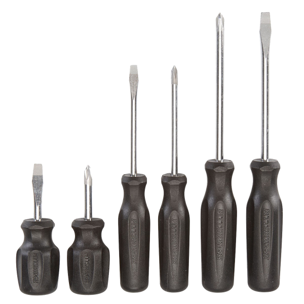 6 Pc Screwdriver Set PITTSBURGH® - agmtools