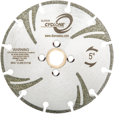 Super  electroplated Blade Marble CYCLONE® - agmtools