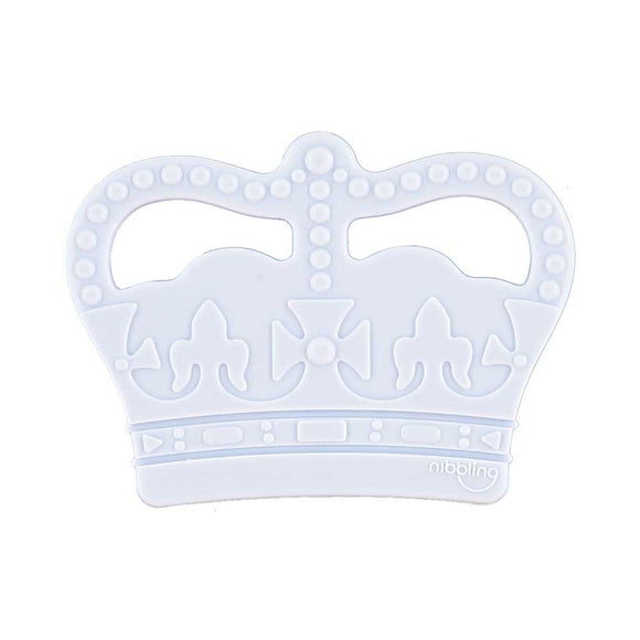 Nibbling - Crown Silicone teether