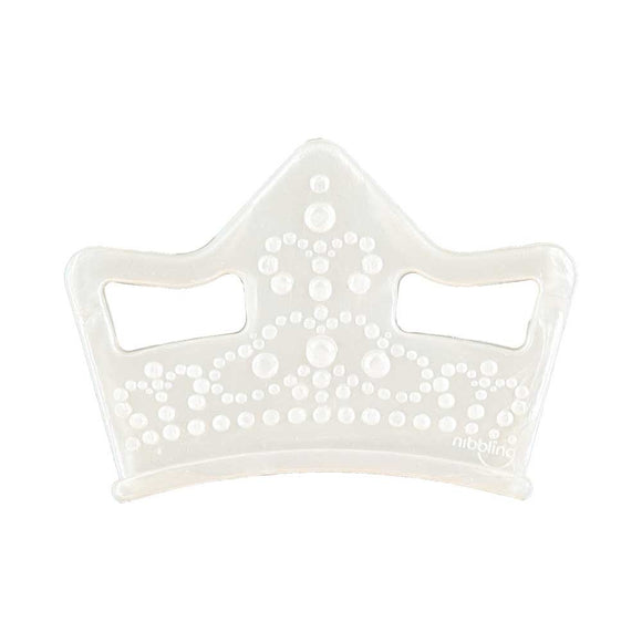 Nibbling - Tiara Silicone teething toy