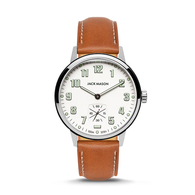 The OVerland 42 Watch - a larger version of the classic camp watch by Jack Mason
