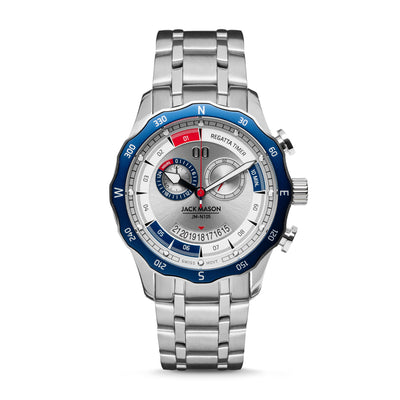 Red, White, and Blue Regatta Timer Watch at Jack Mason