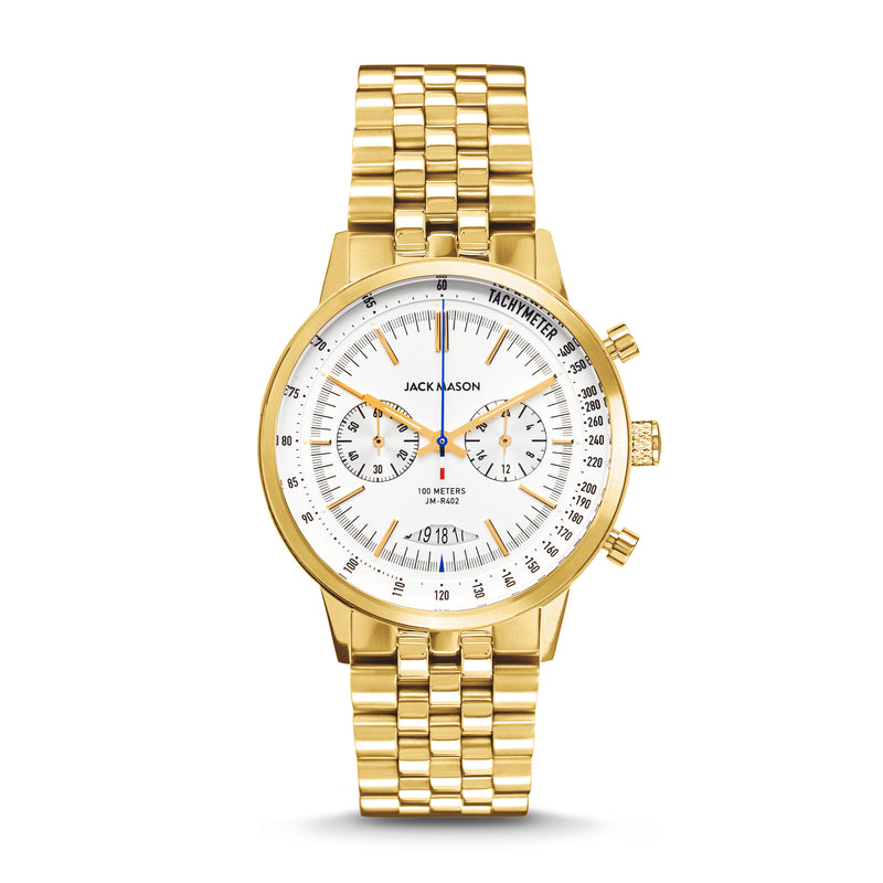 Men's Racing Chronograph in Yellow Gold