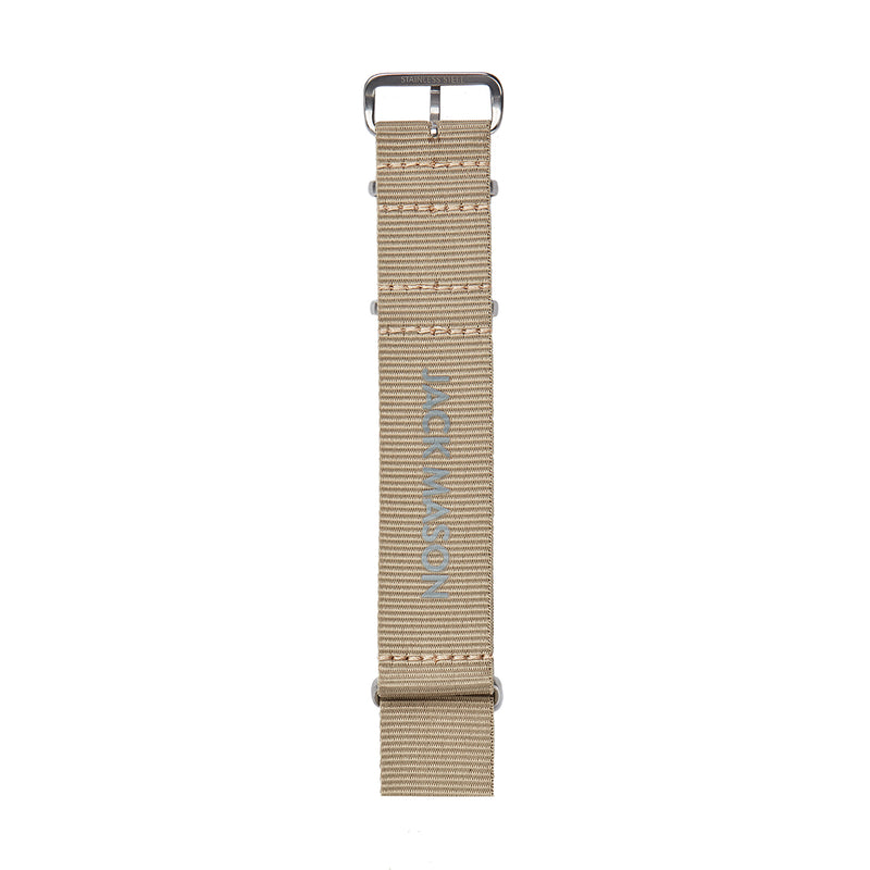 Khaki Nato Nylon Watch Strap