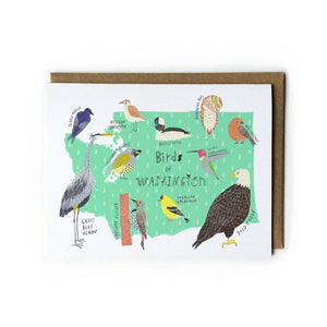 Washington Birds Greeting Card