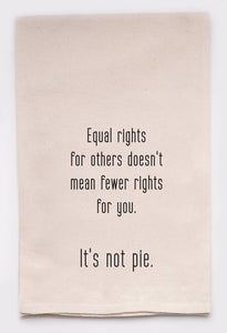 Equal Rights Tea Towel