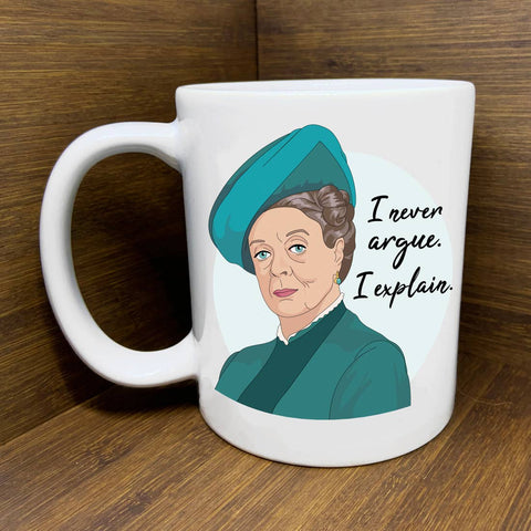 Downton Maggie Smith Mug
