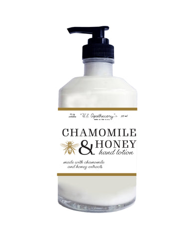 Chamomile + Honey - 12oz Hand and Body Lotion