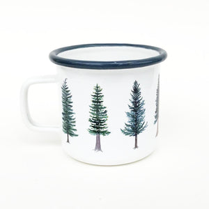 Evergreen Enamel Mug