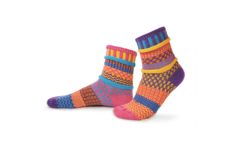 Carnation Crew Socks - Sol Mate Socks