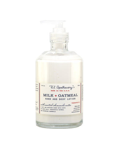 Milk + Oatmeal - 12oz Hand and Body Lotion