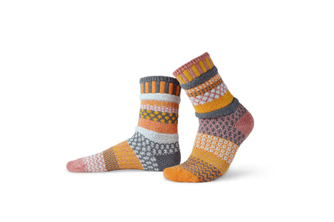 Buckwheat Crew Socks - Sol Mate Socks