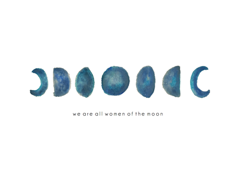 Women of the Moon Art Print