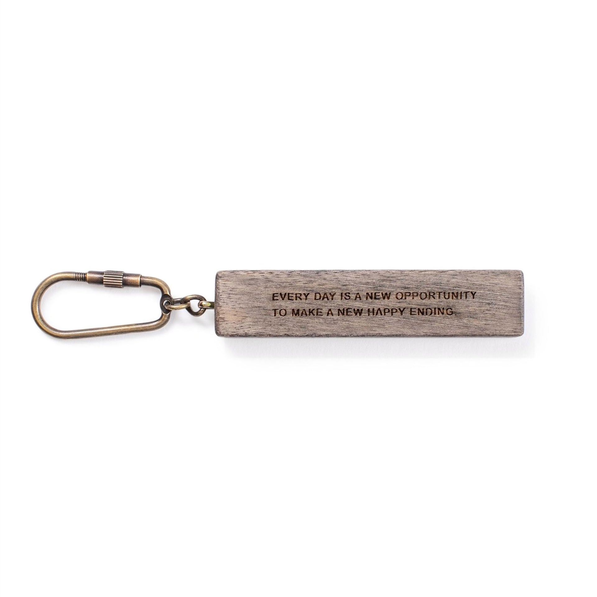 Everyday Is A New Opportunity Keychain
