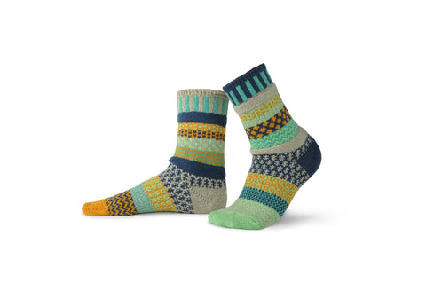 Aloe Crew Socks - Sol Mate Socks