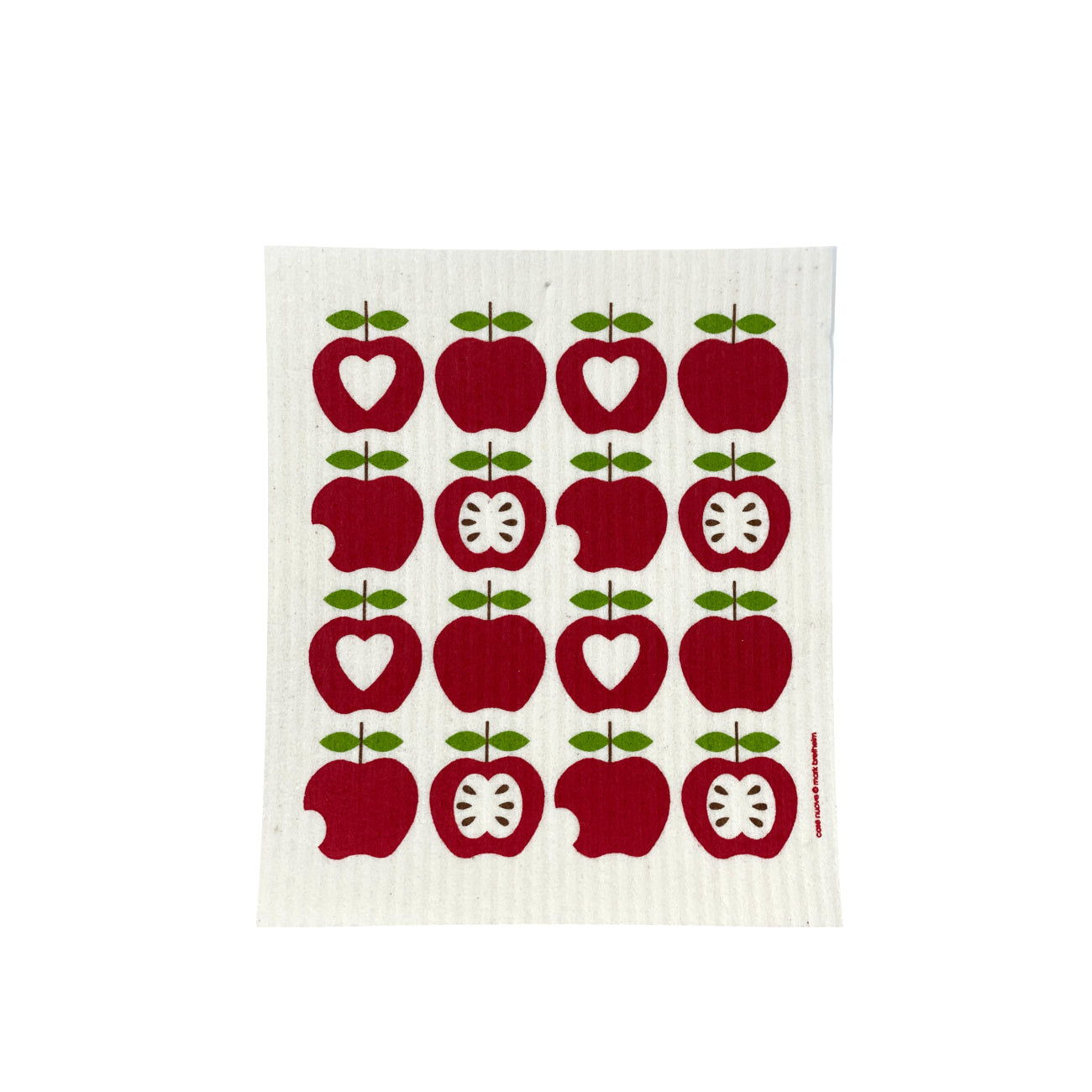 16 Apples - Swedish Dishcloth