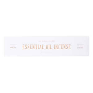 Cedarwood & Palo Santo - Essential Oil Incense