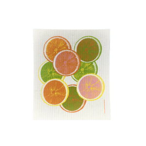 Citrus Slices - Swedish Dishcloth
