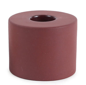 Ceramic Taper Holder - Earth Cone