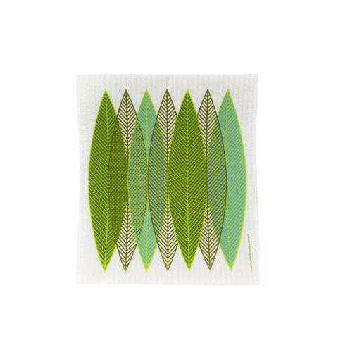 Blade Leaves Green - Swedish Dishcloth