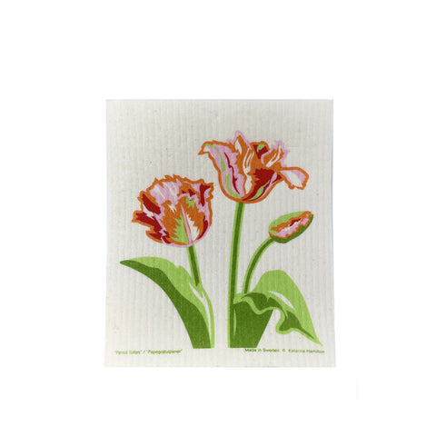 KH Parrot Tulip - Swedish Dishcloth