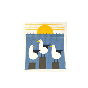Seagull - Swedish Dishcloth