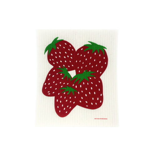 Strawberry - Swedish Dishcloth