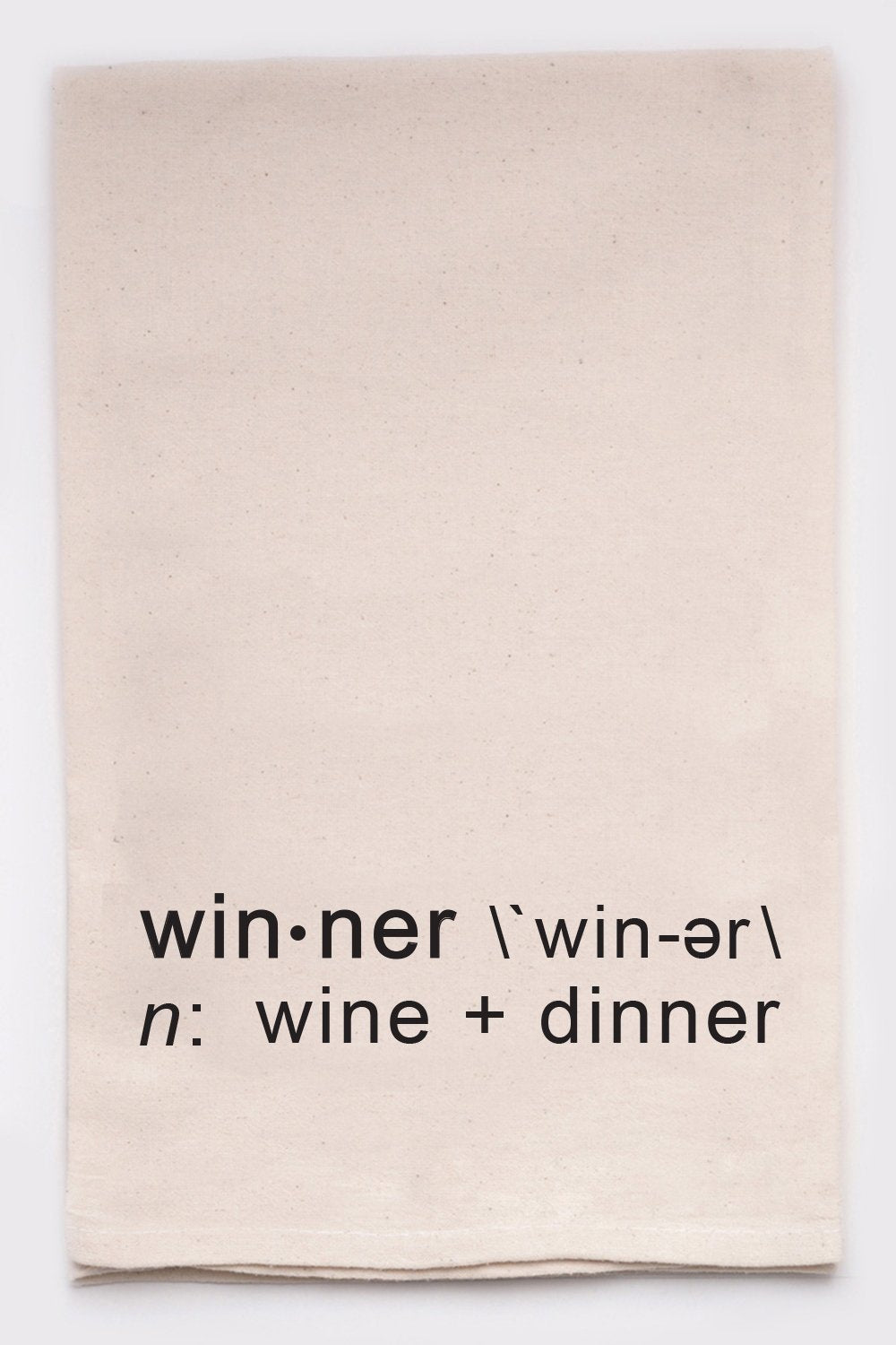 Winner Tea Towel