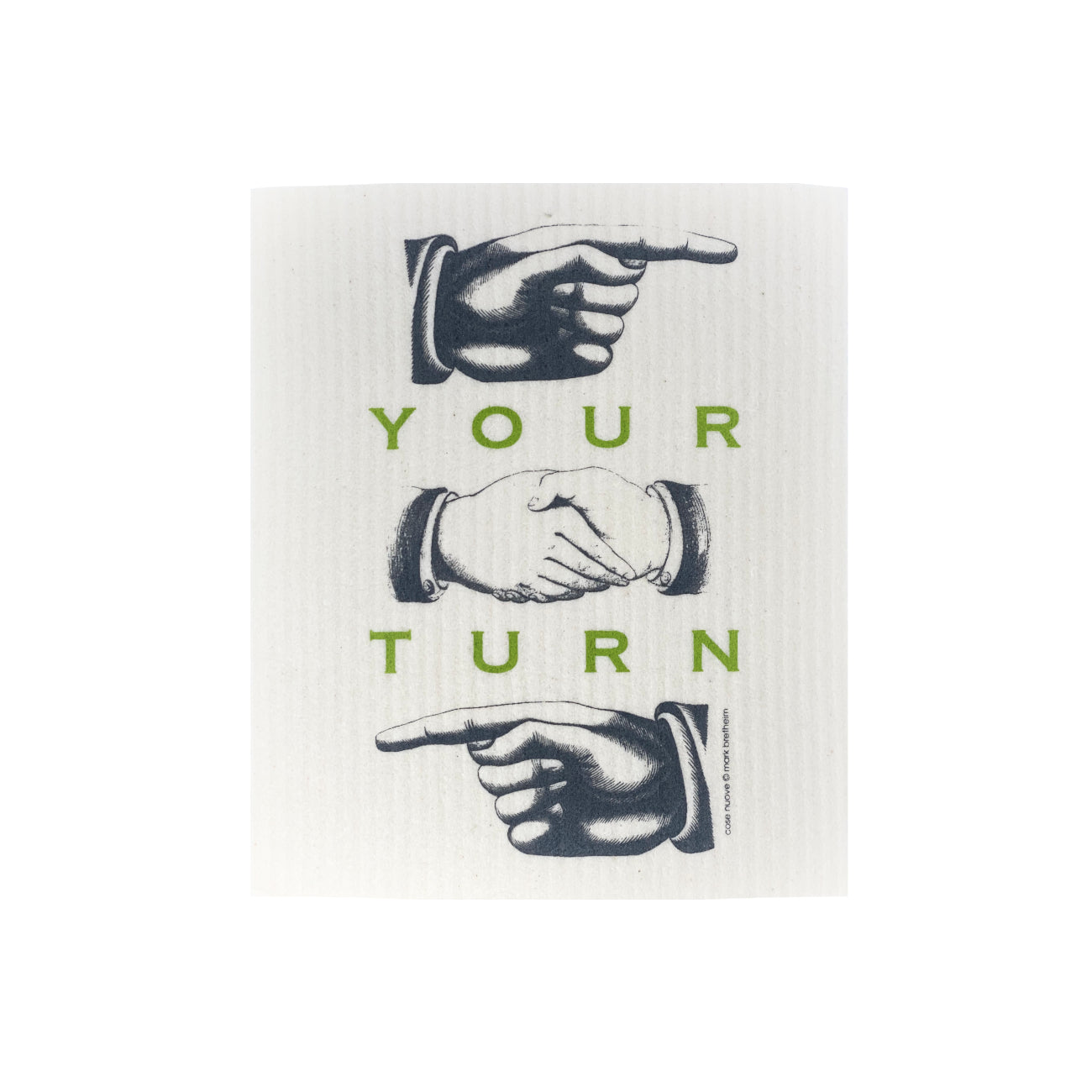 Your Turn - Swedish Dishcloth