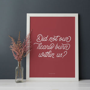 Lettered Art Prints | Study No. 4: Easter Through the Eyes of Those Close to Jesus