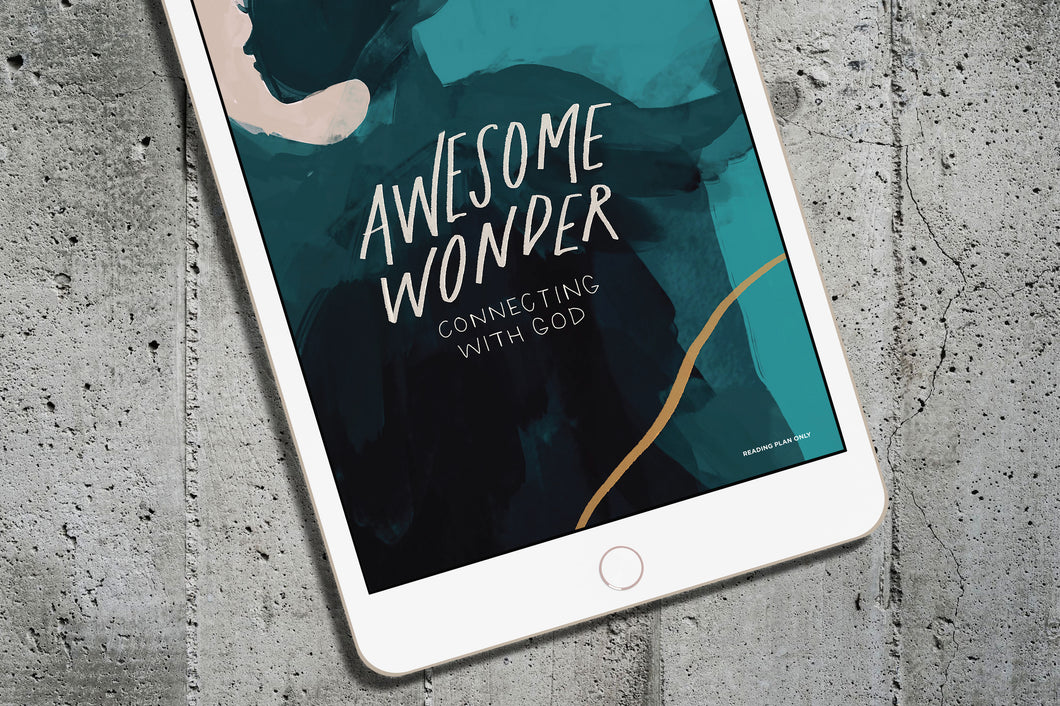 DIGITAL Condensed Reading Plan — Awesome Wonder: Connecting with God