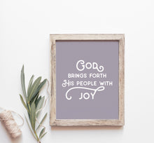 Load image into Gallery viewer, Lettered Art Prints | Study No. 3: Philippians — Unconventional Joy
