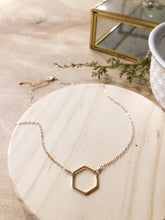 Load image into Gallery viewer, Multiply Goodness Logo Hex Necklace