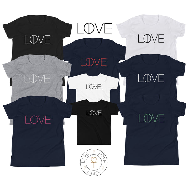 The Live and Love Tee for Kids