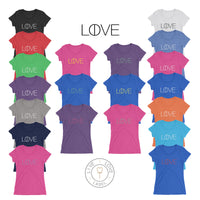 The Live and Love Tee for Ladies