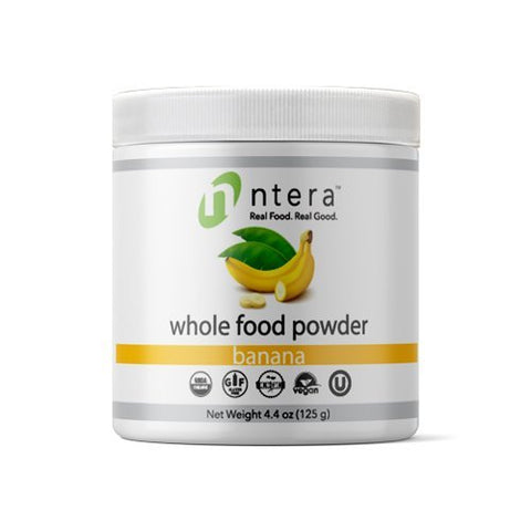 NTERA Banana Whole Food Powder
