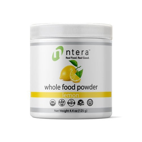 NTERA Lemon Whole Food Powder