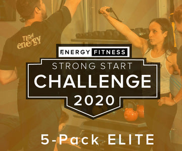 5-pack ELITE 1-on-1 Personal Training