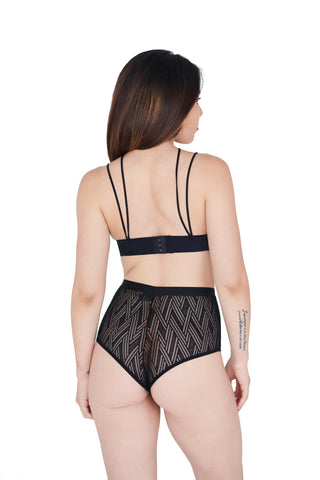 black underwear for women