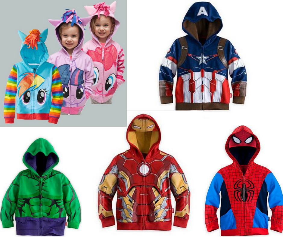 Pony And Superhero Hoodies