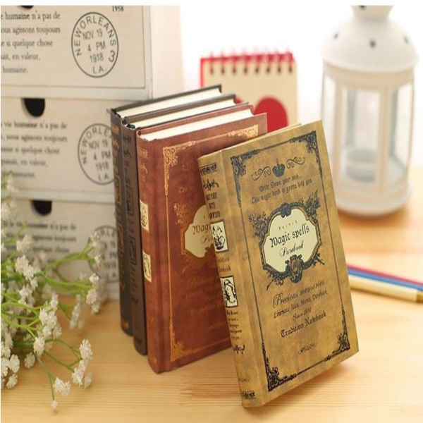 Hardcover Vintage Spell-book/Journal