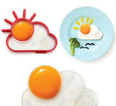 Kitchen Face Shape Egg Mold Breakfast Cute Interesting Mold