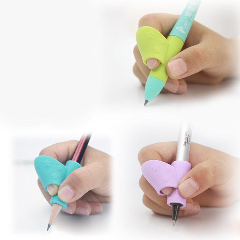 3pc Set Children's Pencil Holder Grip Correction Tool
