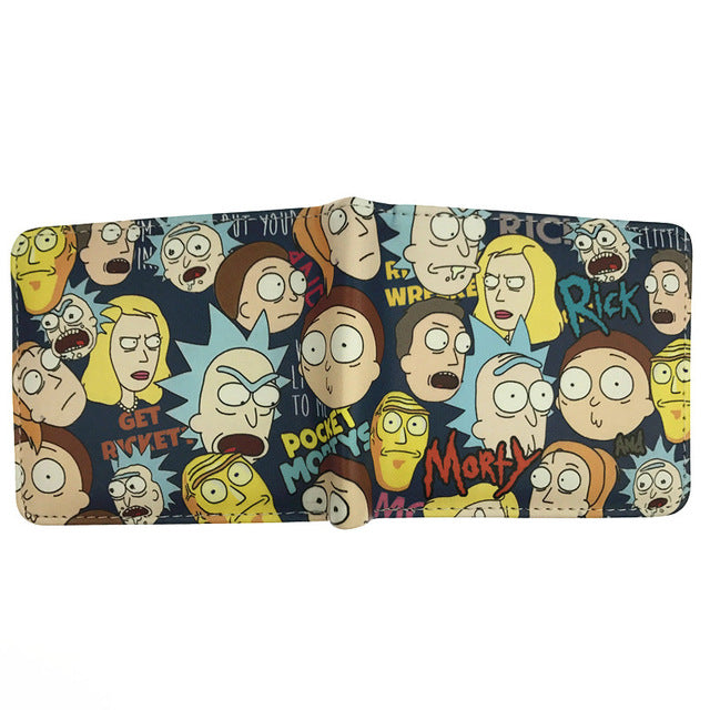 Rick And Morty Wallets (14 types to choose from)