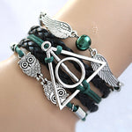 THE Deathly Hallows Wing Dream infinity Bracelet