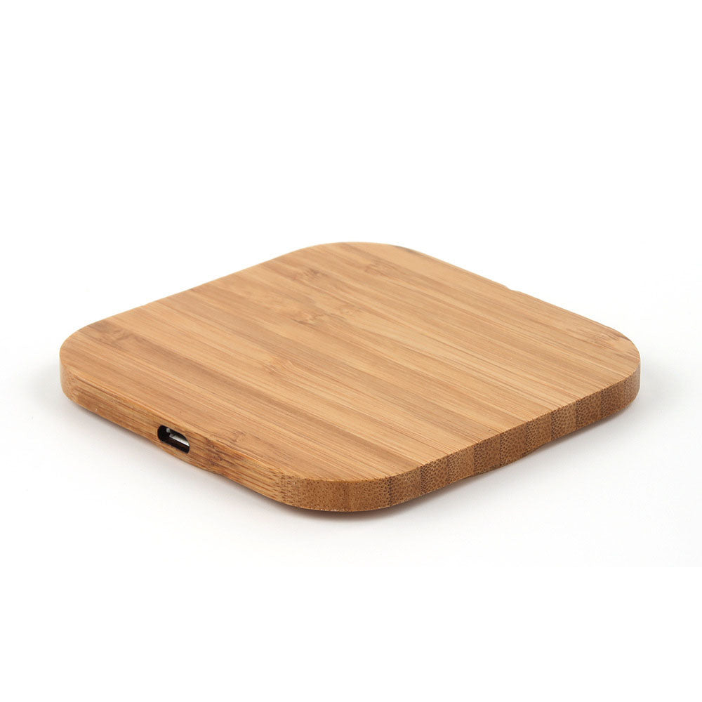 Wireless Wooden Charger Pad