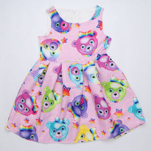 Girl Princess Toddler Floral Dress - Unicorn, Hello Kitty and Other Patterns